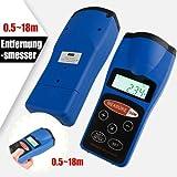 Ultraschall Entfernungsmesser Laser Entfernungsmesser Messgerät Laserpointer w/ LCD Rücklicht