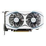 Asus Radeon Dual-RX460-O2G Grafikkarte (AMD Radeon RX 460, 2GB GDDR5 Speicher, PCIe 3.0, HDMI, DisplayPort, VR Ready) weiß