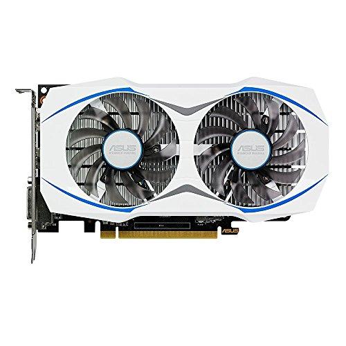 Price comparison product image ASUS Radeon RX460 DUAL OC 2 GB GDDR5 AMD Graphics Card - Black