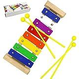 8 Notas Xilófono, DigHealth Xilofono para Niños, Xilófono Juguete de Madera de Instrumento Musical