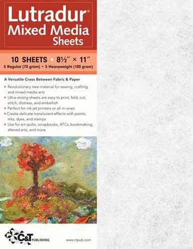 Lutradur Mixed Media Sheets 8.5X11 10/Pack