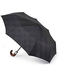 Fulton Chelsea FC-Parapluie Rayures de ville Noir