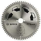 Bosch DIY Kreissägeblatt Special für verschiedene Materialien (Ø 230 mm, 64 Zähne)