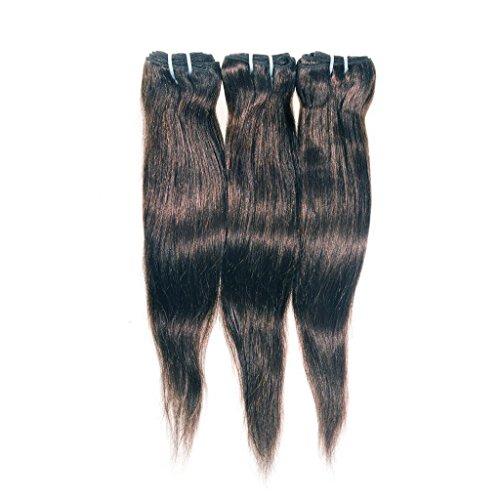 tissage cheveux vierges brésiliens Raides 3Bundle Pack ecowboy Deal avec traités la Virgin Human Hair H-HW-4-ST-161618H-HW-4-ST-161618