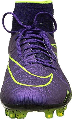 Nike Hypervenom Phantom II FG, Chaussures de Football Homme Morado / noir / jaune (Hyper Grape/Hypr Grape-Blk-Vlt)