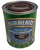 Hammerite, Metall-Schutzlack diekt auf Rost 0,75 Liter -braun/matt wb