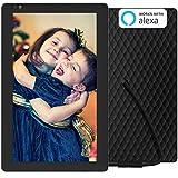 NIXPLAY Seed Digitaler Bilderrahmen WLAN 10 Zoll Breitbild W10B. Fotos & Videos per App oder Email an den Elektronischen Fotorahmen �bertragen. IPS Display. Auto On/Off Funktion (Hu-Motion Sensor) Bild