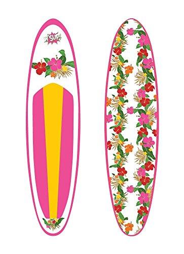 SUP Board Aloha 305 x 77 x 15 cm Inflatable Standup Paddle Surfboard Stand Up Paddel aufblasbar SUP