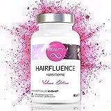 Haar/Hair Vitamine und Mineralstoffe für Frauen « Biotin 10mg Hochdosiert mit Zink, Selen, Eisen - Tabletten gegen Haarausfall Frau - Haarvitamine für normales Haarwachstum - 60 Kapseln (vegan)