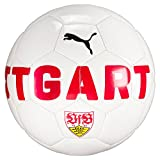 PUMA VfB Stuttgart Fan Ball, White-Ribbon Red, 5