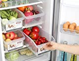 #6: ASkyl 2pc Storage basket With pulley storage box vegetable storage basket large fridge kitchen food fruit storage Box