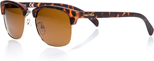 Nautica Men'S Sunglasses - N3610Sp-717 5318, 140 mm Brown