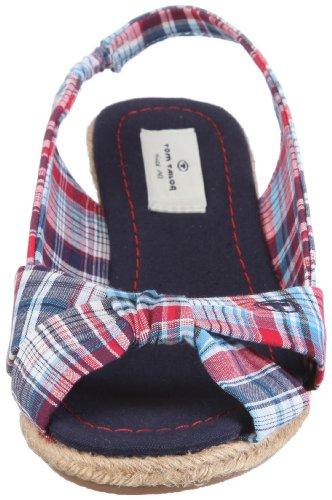 Tom Tailor Laila 0219300-001, Sandales mode femme Bleu-TR-C1-21