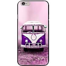 Old Camper Van carcasa rígida para teléfonos móviles, plástico, Old Purple Camper Van, Apple iPhone 6 PLUS