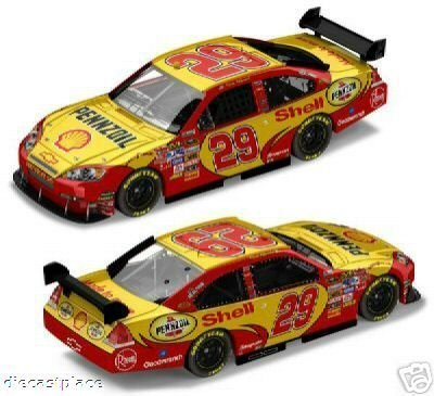 kevin-harvick-29-shell-pennzoil-chevrolet-impala-ss-car-of-tomorrow-today-cot-winners-circle-1-24-sc