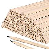 HB-Bleistift-Set für Kinder, aus echtem Holz, 50 Stück, für Kinder, Schüler, Lehrer, Büro, Schulmaterial, Zeichnen, Schreiben