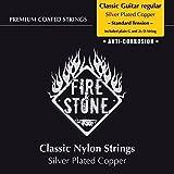 Fire & Stone 651870 Cordes pour Guitare Classique