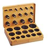 Set de llaves de Kit de junta tórica arandela de caucho sellos surtido 30tamaños–Alto grado de ingeniería nitrilo (NBR/Buna) de goma ideal para mantenimiento y fontanería–envío directo por AMAZON