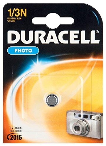 Duracell CR11108 DL1/3N Photo Lithium Batterie CR1/2L76 silber