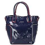 Desigual Pop Vinil Shibuya Hand Bag Navy
