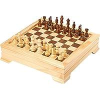 Bavaria-Home-Style-Collection-Holz-Spielesammlung-Reise-Gesellschaftsspiele-fr-die-ganze-Familie-Spiele-Kassette-aus-Holz-Dame-Schach-Backgammon-Karten-Spiele-UVM-Geschenk-Ideen