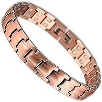 Therapie Magnetic Kupfer Armband für Frauen Wollet Schmuck Armband Doppel-Magnete preisvergleich bei billige-tabletten.eu