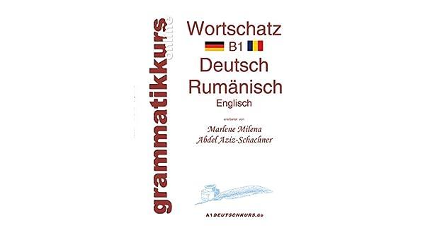 Wörterbuch Rumänisch B1 Lernwortschatz Für Deutschkurs