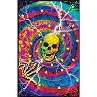 –cyber Junkie Blacklight poster stampa artistica