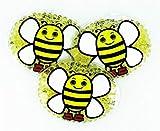 3 Kühlpads Wärmepad mehrfach Kompresse Kühlkissen Kinder wärmen kühlen Biene