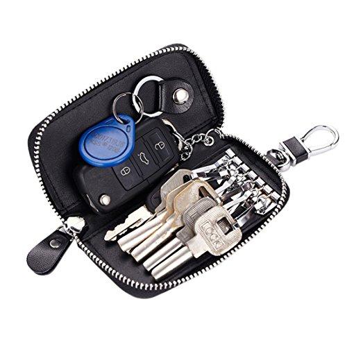 bravo-crafts-premium-leather-car-key-holder-bag-credit-card-holder-wallet-black