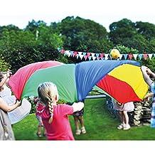 Brookite 3660 - Paracaídas para juegos (2.40 m)
