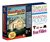 FloorPlan 3D Home Design Suite 6.0 & FREE The Complete Decorator Making Rooms Video -