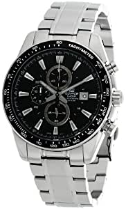 Casio Edifice Chronograph Black Dial Men's Watch - EF-547D-1A1VDF (ED389)