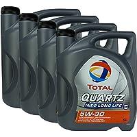 4 x total Quartz Ineo Long Life 5 W-50 ...