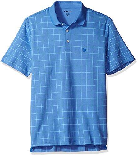 IZOD Herren Poloshirt Gr. S, Blue Revival (Polo Izod-pique Shirt)