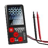 Digital Multimeter mit NCV & Live Wire Check Funktion, Auto-Range 9999 Counts Strommessgerät Voltmeter Ohmmeter Messen von AC/DC-Spannung, Widerstand, Frequenz, Durchgang, Kapazität und Diode