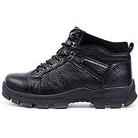 HUALQ A860 Moda De Invierno Masculina Marea Hombres Deportes Ocasionales Caminatas Zapatos Hombres Botas