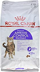 Royal Canin Dry Cat Food Sterilised Appetite Control 4 Kg