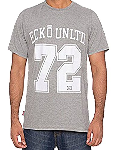 Ecko Herren T-Shirt Ath Grey Marl