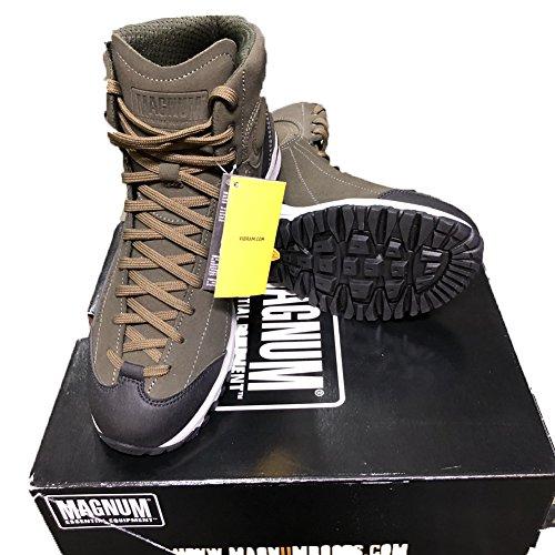 Amphibien Schuhe Approach Tactical 5Mid Leder grün Coyote Stiefel niedrig (Mid-heel Leder-einlegesohlen)