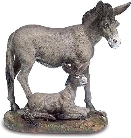 Figurine Ane avec ânon