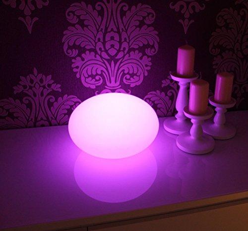 Canyonlands Multifunktionale, Premium, Farbwechsel, Ovale LED Gartenlampe in verschiedenen Größen (35 x 20 cm)