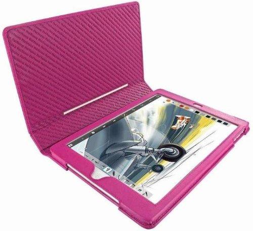 Piel Frama Ledertasche Folio Style Fuchsia für Apple iPad Air U642P