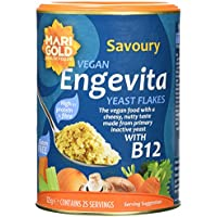Engevita Savoury Yeast Condiment With B12 125g (Pack of 2)
