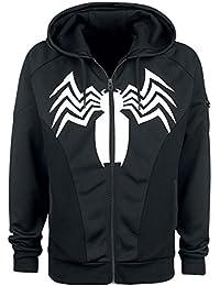 Spider-Man Venom Veste de survêtement noir
