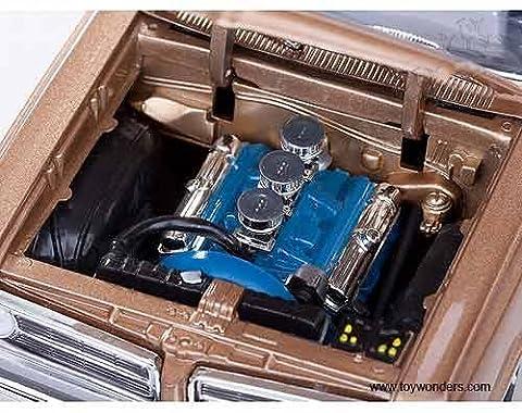 Carolirala 1825bn Soleil étoiles USA–Pontiac GTO Hard Top (1964, 1: 18, selle Bronze) 1825moulé sous pression Modèle de voiture auto véhicule automobile en métal fer