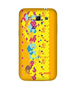 Stripes And Elephant Print-42 Samsung Galaxy Grand Duos I9082 Case