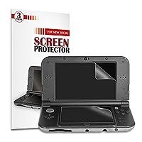 New 3DS XL Display schutzfolie [3 Stück] - Younik 0.125mm / 4H Ultra-Klare HD Bildschirmfolie für den Nintendo New 3DS XL (Kratzfest / Hohe antwort / Blasenfrei)