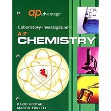 AP Chemistry: Laboratory Investigations