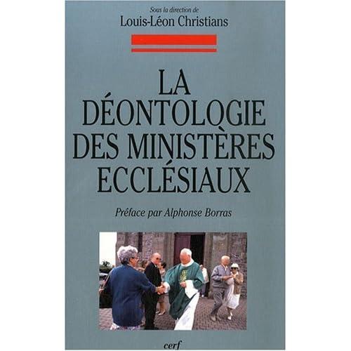Déontologie des ministères ecclésiaux